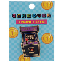 Charger l'image dans la galerie, Pin's Game Over arcade