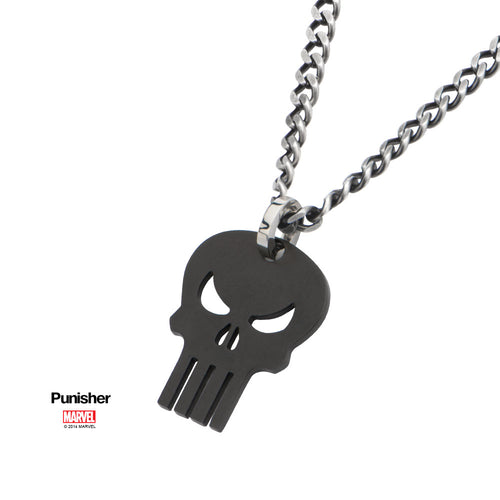 Pendentif The Punisher Skull black