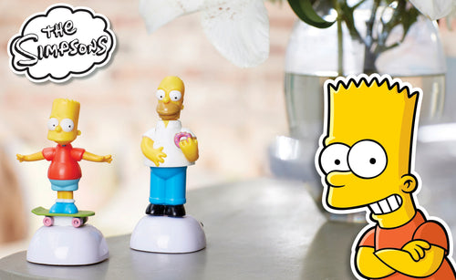 THE SIMPSONS Figurine solaire