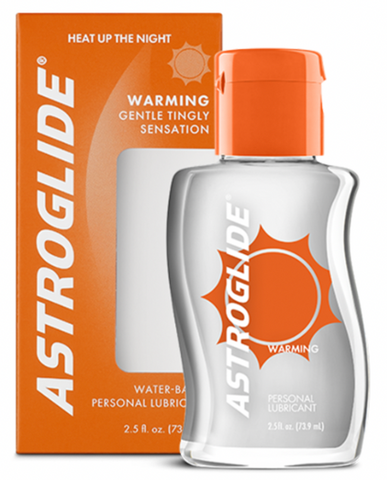astroglide warming liquid lube