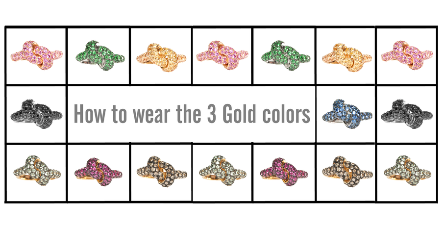 How To Properly Wear The Three Gold Colors