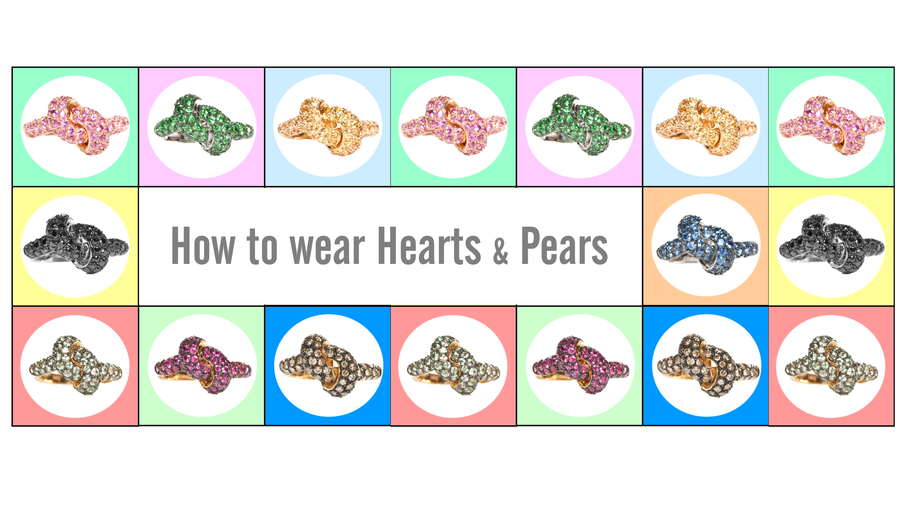 How To Wear Hearts & Pears shaped Rings