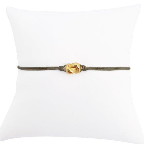 Mini Knot Bracelet Yellow Gold