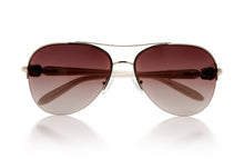 Load image into Gallery viewer, KISSES White Classic - Sun Glasses