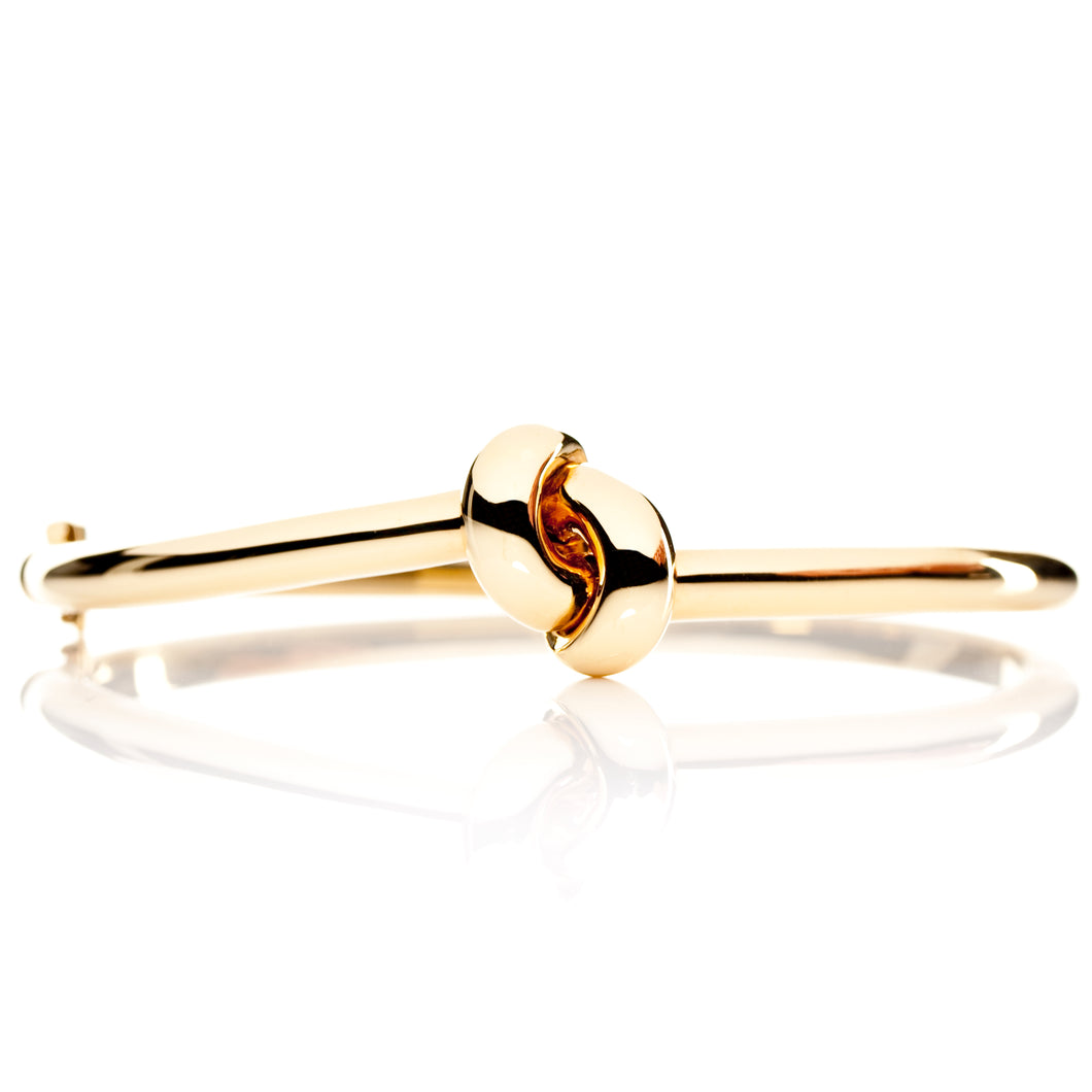 The Love Knot Bracelet - Yellow Gold