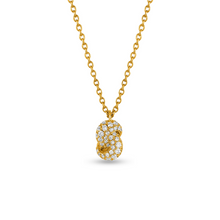 Load image into Gallery viewer, Mini Knot Pendant in Yellow Gold