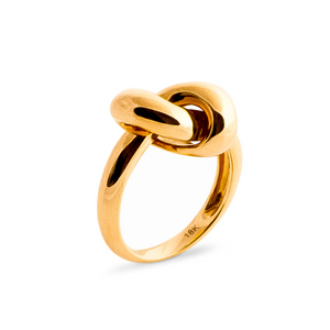 The Love Knot Ring - Yellow Gold