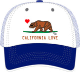Trucker Hat w/ CA Love design