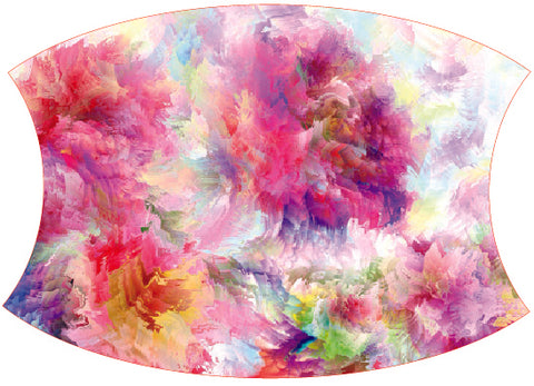 Face Mask Floral Water Color