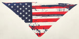 Bandana w/ USA Distressed design