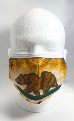 Face Mask California Flag