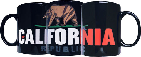 California Surf Bear Mug