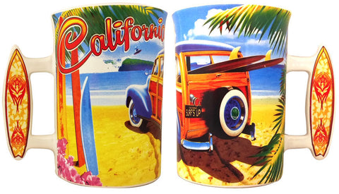 California Woody Large Mug