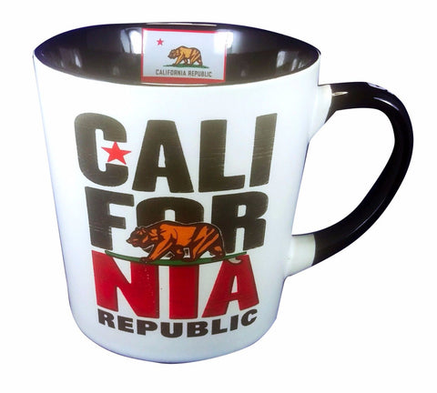 California Stack White Mug