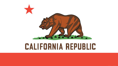 California Flag Beach Towel