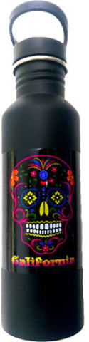 Day of the Dead 750ml Aluminum Water Bottle