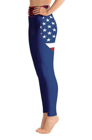 AMERICA HIGH WAIST LEGGINGS - Be Atletic