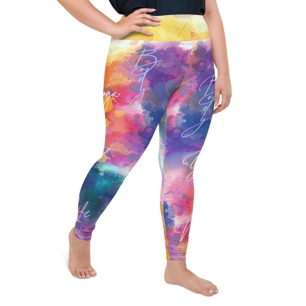ISA CURVY HIGH WAIST LEGGINGS - Be Atletic