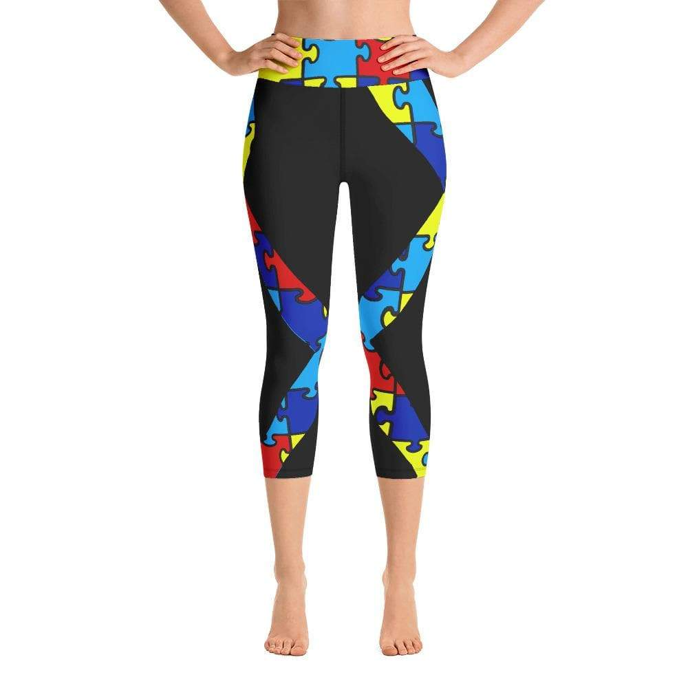 ANDY (BLACK STYLE) HIGH WAIST CAPRI LEGGINGS - Be Atletic