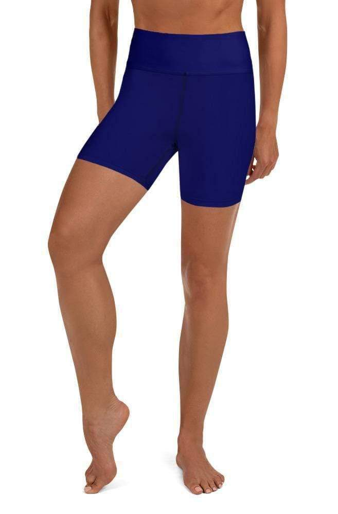 BLURPLE HIGH WAIST SHORTS - Be Atletic
