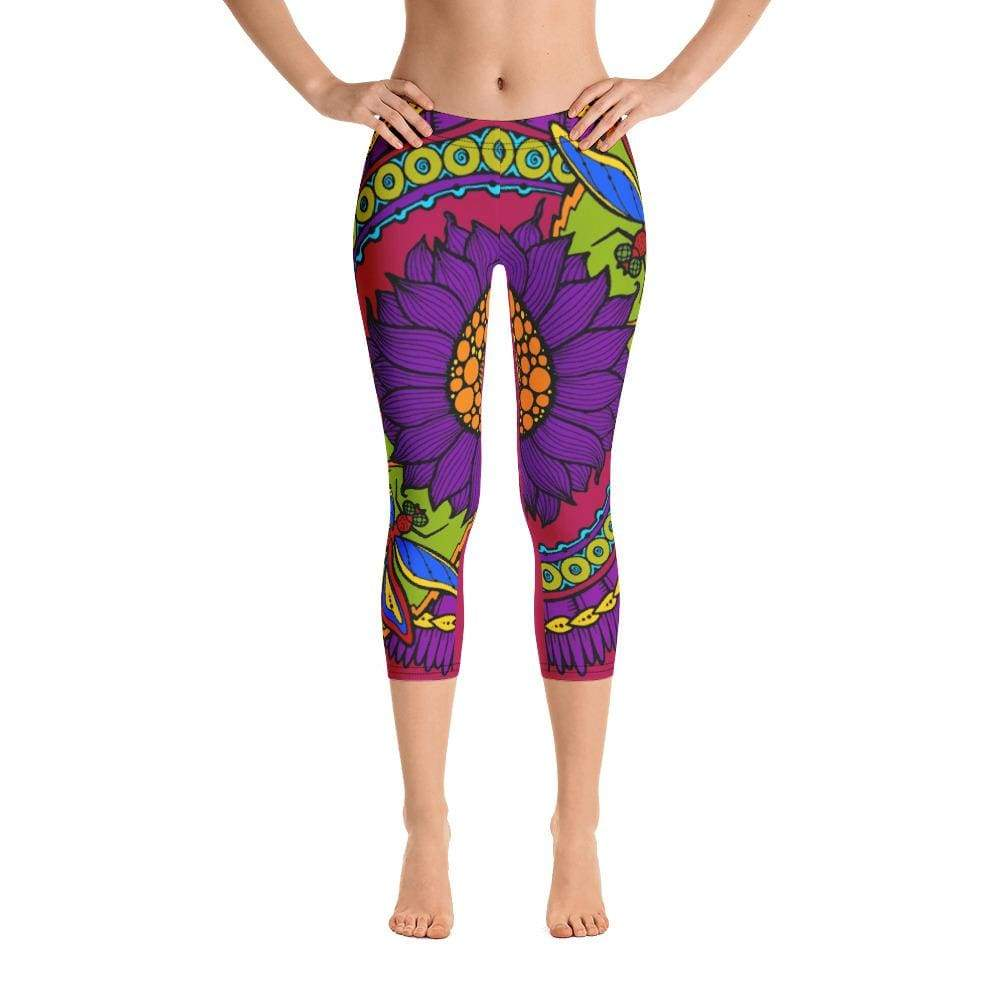 VIOLETA CAPRI LEGGINGS - Be Atletic