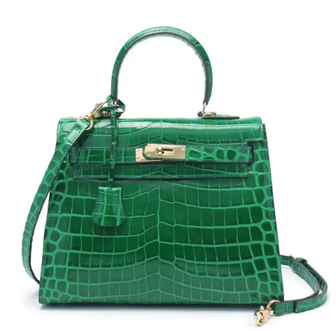 Milano Croco Edition Pearl green - 25cm