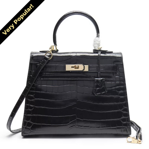 Milano Croco Edition Jet Black - 28cm