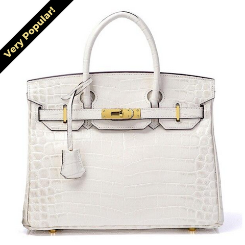 Mediglia Croco Edition Polar white - 35cm