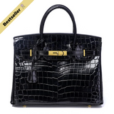 Mediglia Croco Edition Jet black - 35cm