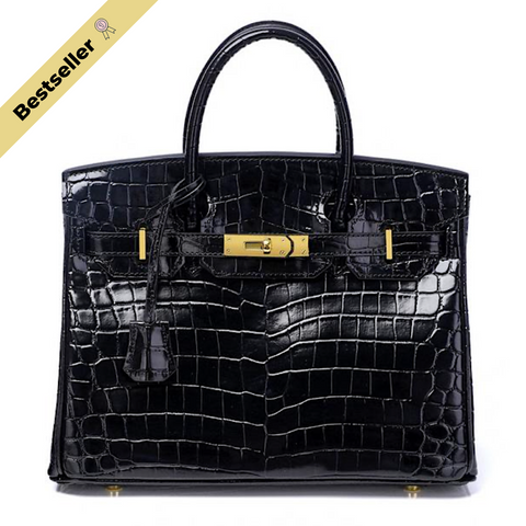 Mediglia Croco Edition Jet black - 30cm