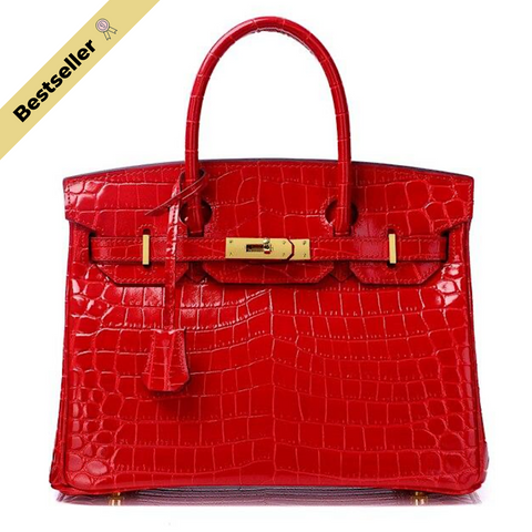 Mediglia Croco Edition Scarlet red - 35cm