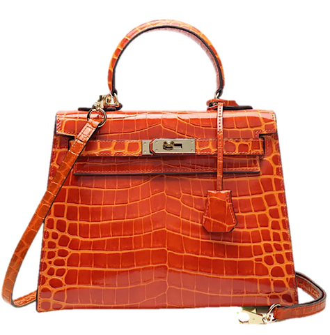 Milano Croco Edition Luminous orange - 25cm