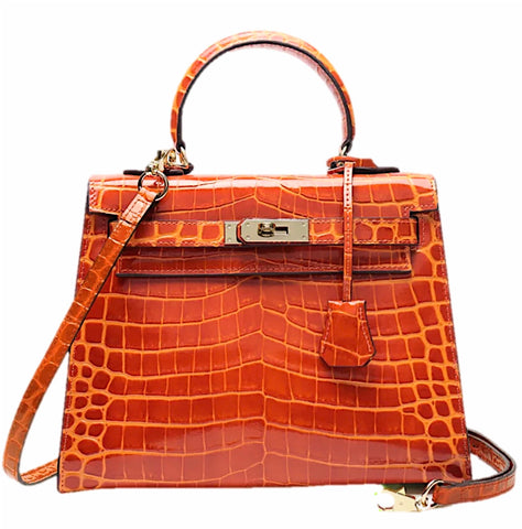 Milano Croco Edition Luminous orange - 28cm