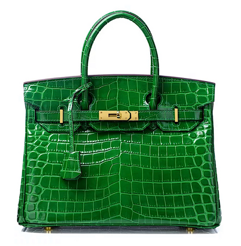 Mediglia Croco Edition Pearl green - 35cm