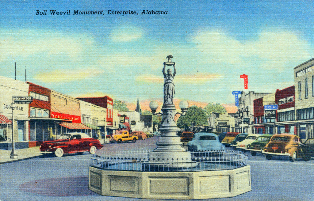 postcards from Alabama