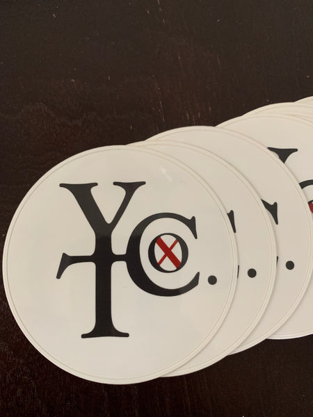 YHTC Logo Sticker