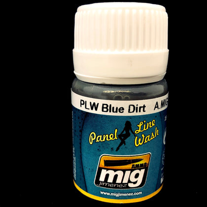 Ammo Panel Line Wash-Blue Dirt