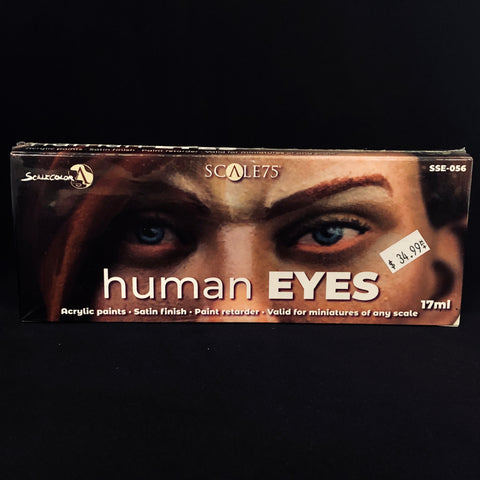 Scale 75 Human Eyes Paint Set