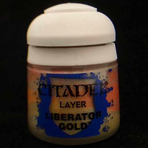 Games Workshop Citadel Layer: Liberator Gold