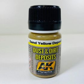 AK Interactive Dust And Dirt Deposits- Sand Yellow Deposit