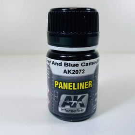 AK Interactive Paneliner- Grey And Blue Camouflage