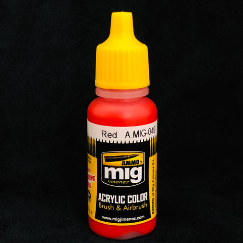 Ammo Acrylic Color: AMIG049 Red