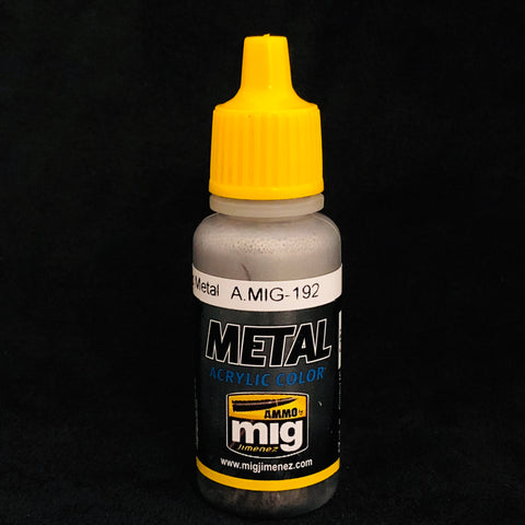 Ammo Acrylic Color: AMIG192 Polished Metal