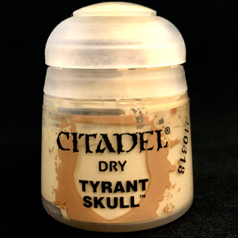 Games Workshop Citadel Dry: Tyrant Skull