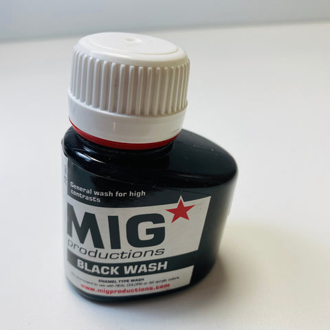 Mig Productions Black Wash P281 75 ML.