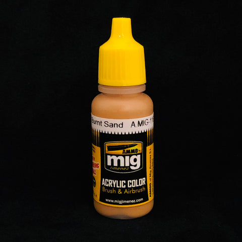 Ammo By Mig Jimenez Acrylic Color: AMIG118 Burnt Sand