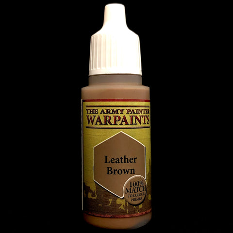 The Army Painter Warpaints Acrylic: Leather Brown