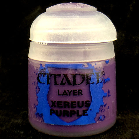 Games Workshop Citadel Layer:  Xereus Purple