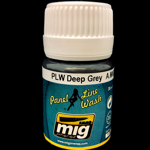 Ammo Panel Line Wash-Deep Grey