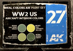 AK Interactive Real Colors- WW2 US Aircraft Interior Colors